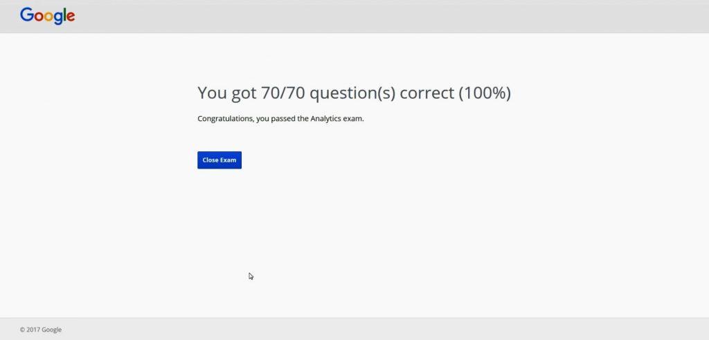 Google Analytics Exam Answers 2017 - 100% Correct Answers